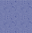 Binary computer code raster background black vector image