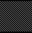 diagonal lines pattern black daigonal background vector image