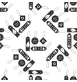 Eco tags icon pattern vector image