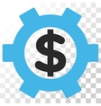 Financial Settings Icon vector image vector image