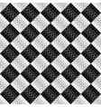geometrical abstract monochrome ring pattern vector image vector image