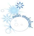 Winter Wonderland vector image vector image