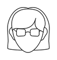 Avatar woman icon People design graphic vector image vector image