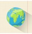 Doodle globe vector image vector image