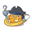 pirate planet saturnus character cartoon vector image vector image