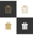 Realtor agent architect real estate company logo vector image vector image
