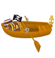 Rowboat vector image vector image