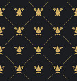 seamless pattern decor vector image vector image