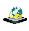 Smartphone global optimization data center