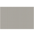 The pattern of the black dashed vertical stripes vector image