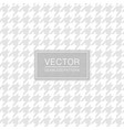 vintage seamless cloth pattern - repeatable vector image vector image