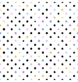 seamless scribble dotted pattern vector image