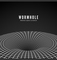 abstract black hole or wormhole sci-fi digital