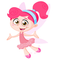 cheerful fairy vector image vector image
