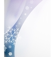 Christmas blur wave vector image vector image