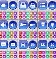 Cloud Printer List Sound Key Brush Chat bubble Car