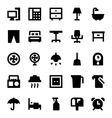 Home Appliances Icons 3 vector image vector image