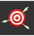 icon Target and Arrows vector image vector image