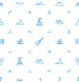 rock icons pattern seamless white background vector image vector image