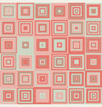 seamless pattern with squares vector image vector image