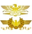 Symbols of Roman legions-2 vector image vector image