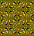 vintage colorful floral seamless pattern damask vector image vector image