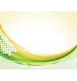 Wave pattern background vector image vector image
