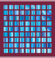 blue squares collection background texture vector image vector image