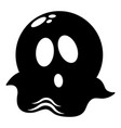ghost icon simple black style vector image vector image