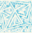 ice color geometric seamless pattern vector image vector image