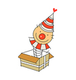 icon Pierrot vector image vector image