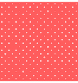 Orange Pink Red Star Polka Dots Background vector image vector image