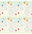 Seamless Abstract Pattern with cherries vector image