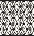 seamless lines mosaic pattern modern stylish vector image vector image