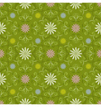 Seamless spring green pattern vector image