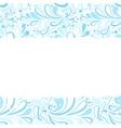 christmas and ny congratulation blank postcard vector image vector image