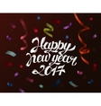 Falling paper confetti for new year and christmas vector image vector image