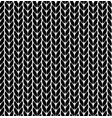 knitting pattern texture seamless vector image vector image