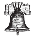 Liberty Bell USA vector image