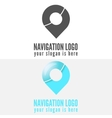 Logo badge label emblem or logotype elements vector image