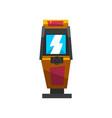 slot machine with joystick electronic virtual vector image