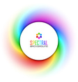 Spectral background vector image