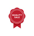top quality sale shopping promotion vector image vector image