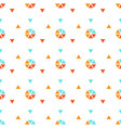 triangle seamless background with shapes vector image vector image