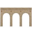 vintage arcade brick vector image vector image
