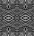 Zebra skin wallpaper vector image