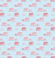 elephants wallpaper vector image