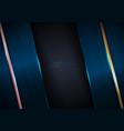 abstract elegant blue metallic texture vector image vector image