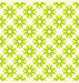 Abstract flower seamless pattern green color