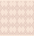art deco semless pattern vintage decorative rose vector image vector image